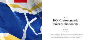 10000 vele di solidarietà